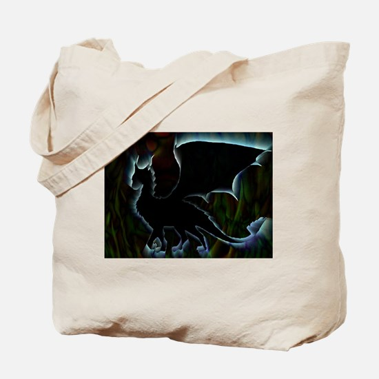 Dragon Aura Tote Bag