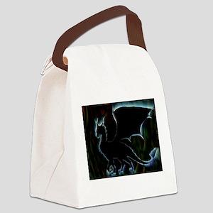 Dragon Aura Canvas Lunch Bag