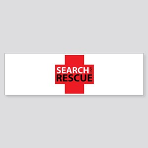 Search And Rescue Bumper Sticker