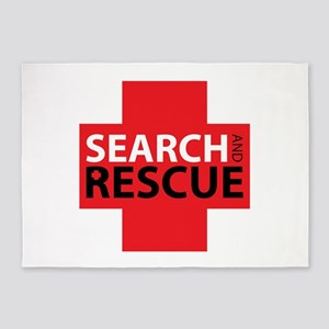 Search And Rescue 5'x7'Area Rug