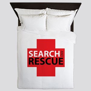 Search And Rescue Queen Duvet