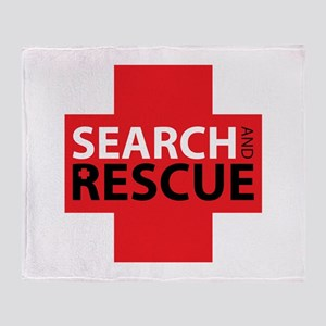 Search And Rescue Throw Blanket