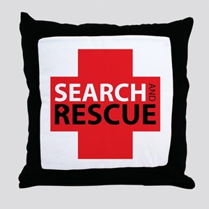 Search And Rescue Throw Pillow