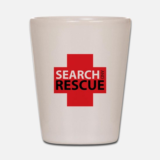 Search And Rescue Shot Glass