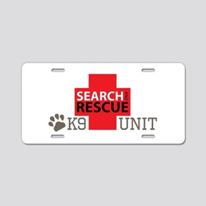 K9-Unit Aluminum License Plate