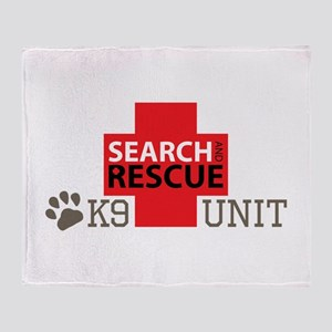 K9-Unit Throw Blanket