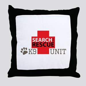 K9-Unit Throw Pillow