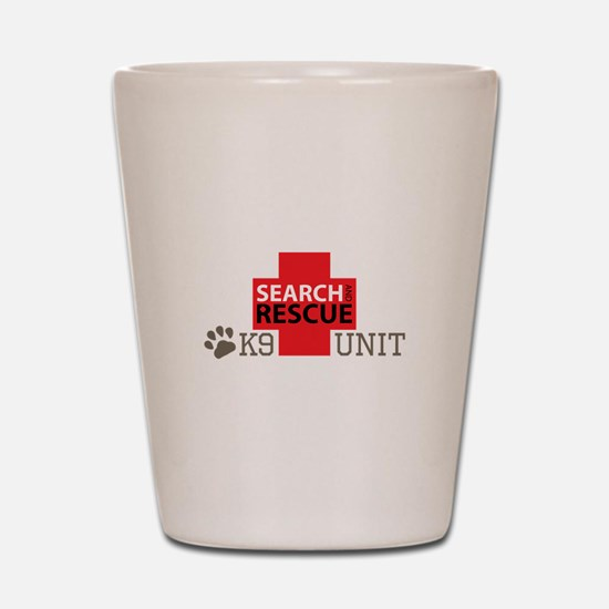 K9-Unit Shot Glass