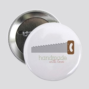 """Handmade with love 2.25"""" Button"""