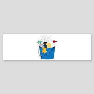 Cleaning Bucket Bumper Sticker