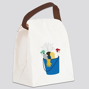 Cleaning Bucket Canvas Lunch Bag