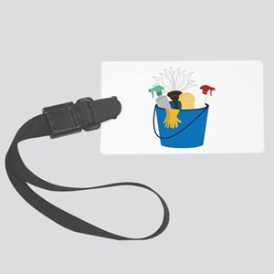 Cleaning Bucket Luggage Tag