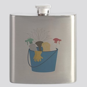 Cleaning Bucket Flask