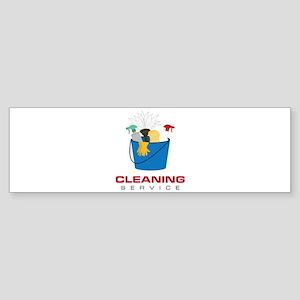 Cleaning Service Bumper Sticker