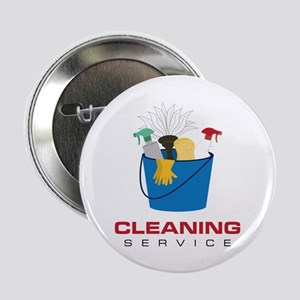"""Cleaning Service 2.25"""" Button"""