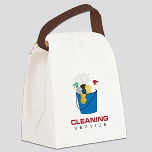 Cleaning Service Canvas Lunch Bag