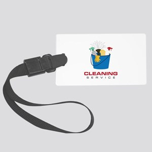 Cleaning Service Luggage Tag