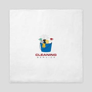 Cleaning Service Queen Duvet