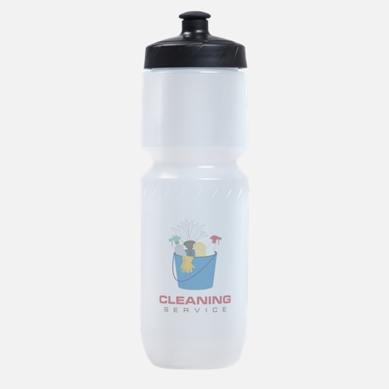 Cleaning Service Sports Bottle