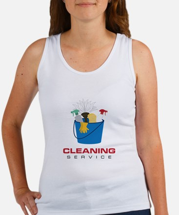 Cleaning Service Tank Top