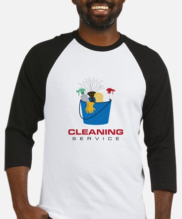 Cleaning Service Baseball Jersey