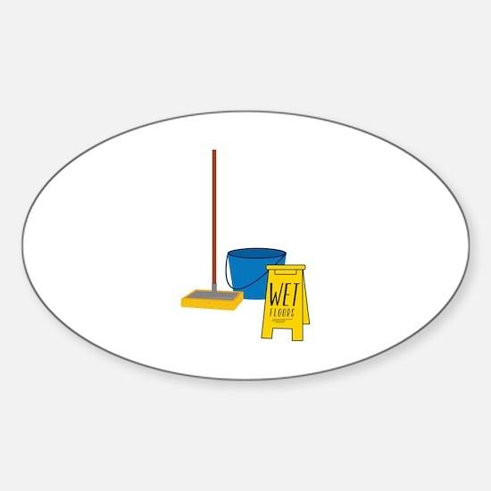 Mop Bucket Decal