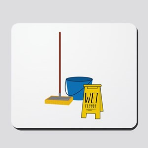Mop Bucket Mousepad