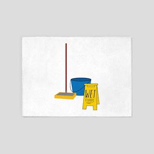 Mop Bucket 5'x7'Area Rug