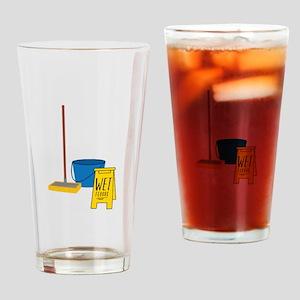 Mop Bucket Drinking Glass