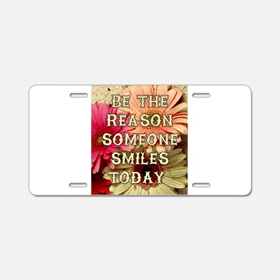 BE THE REASON Aluminum License Plate