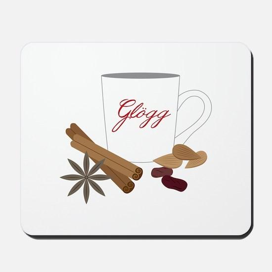 Winter Glogg Mousepad