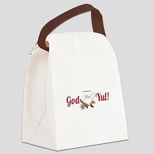 God Yul! Canvas Lunch Bag