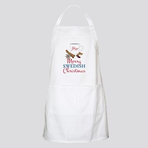 Merry Swedish Christmas Apron