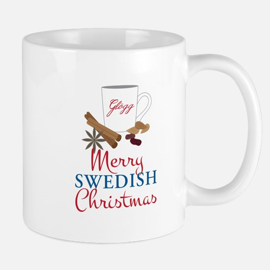 Merry Swedish Christmas Mugs