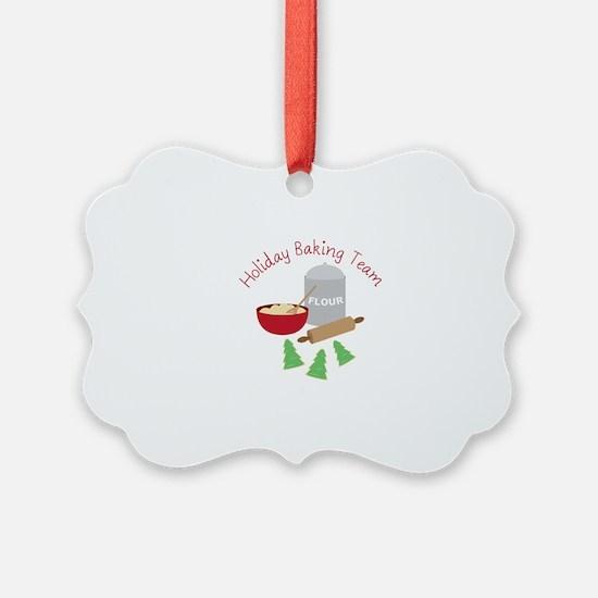 Holiday Baking Team Ornament