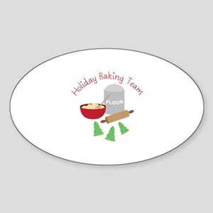Holiday Baking Team Sticker