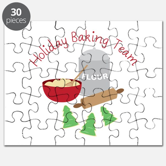 Holiday Baking Team Puzzle