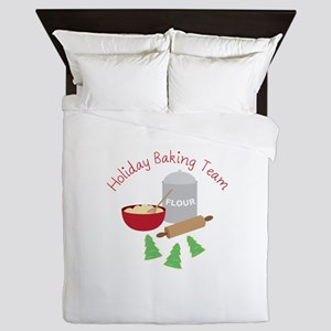 Holiday Baking Team Queen Duvet