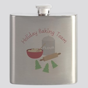 Holiday Baking Team Flask