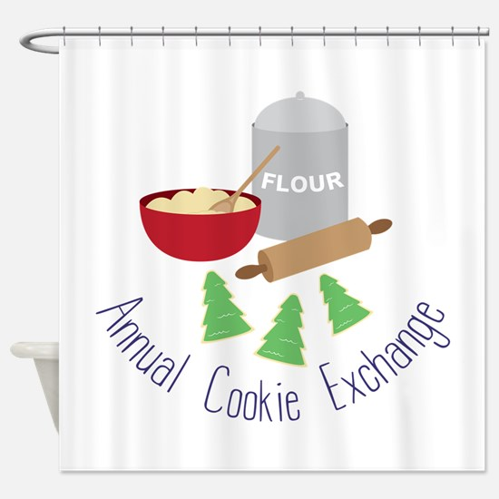 Annual Cookie Exchange Shower Curtain