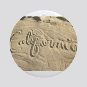 CALIFORNIA SAND Ornament (Round)