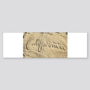 CALIFORNIA SAND Bumper Sticker