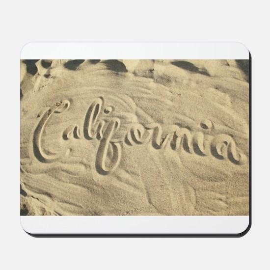 CALIFORNIA SAND Mousepad