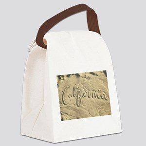 CALIFORNIA SAND Canvas Lunch Bag