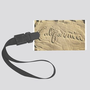 CALIFORNIA SAND Luggage Tag