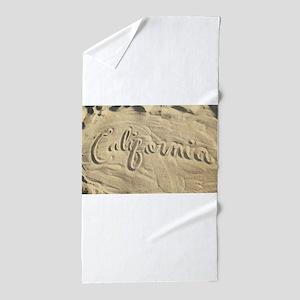 CALIFORNIA SAND Beach Towel