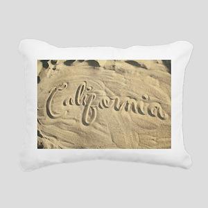 CALIFORNIA SAND Rectangular Canvas Pillow