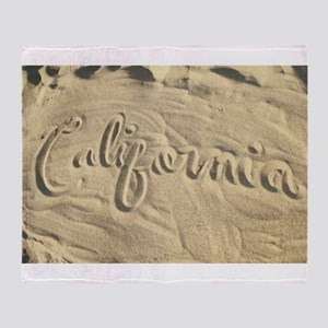 CALIFORNIA SAND Throw Blanket