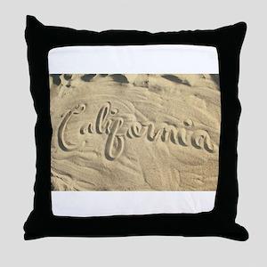 CALIFORNIA SAND Throw Pillow