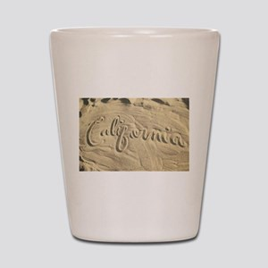 CALIFORNIA SAND Shot Glass